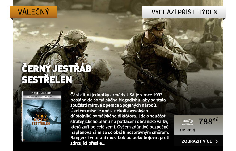 Černý jestřáb sestřelen (4K Ultra HD) - UHD Blu-ray   Blu-ray (2 BD)