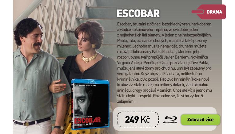 Escobar - Blu-ray