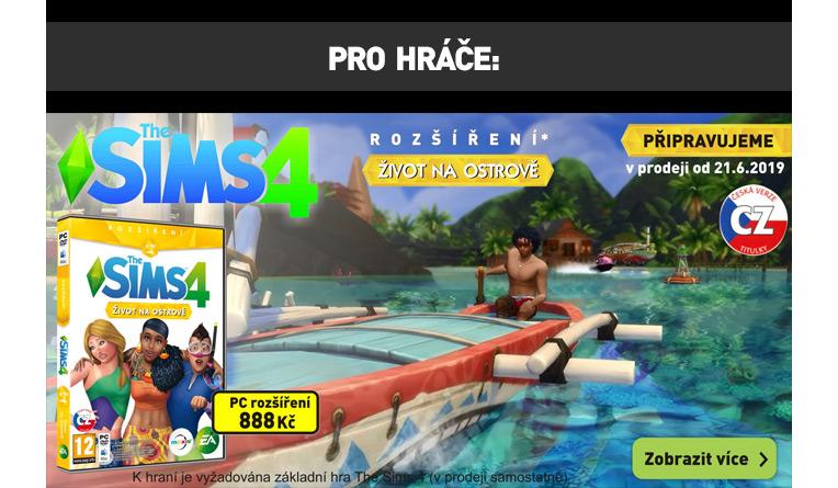 The Sims 4 - život na ostrově