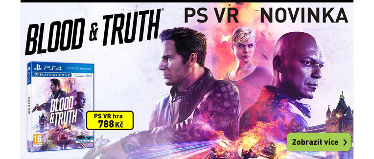 Blood & truth PSVR