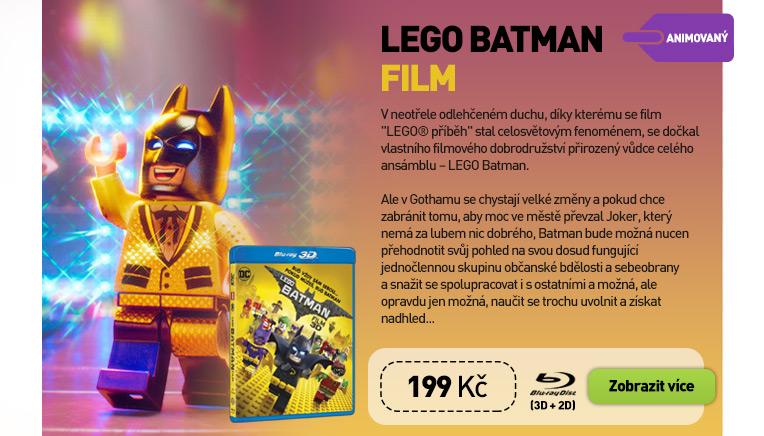 LEGO BATMAN FILM - Blu-ray 3D   2D