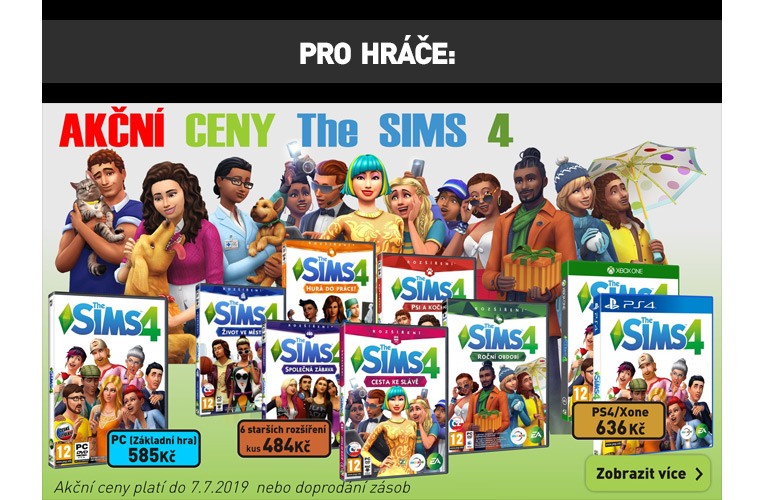 The Sims 4 Akce
