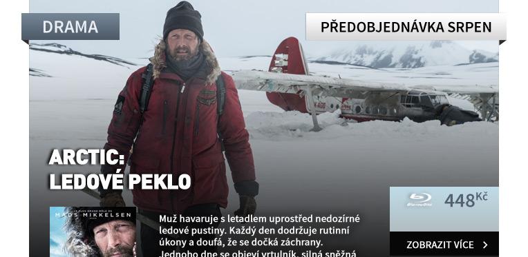 Arctic: Ledové peklo - Blu-ray