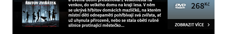 Řbitov zviřátek - DVD