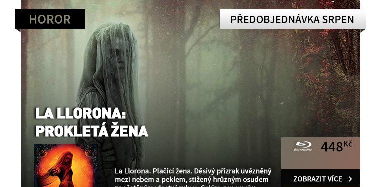 La Llorona: Prokletá žena - Blu-ray