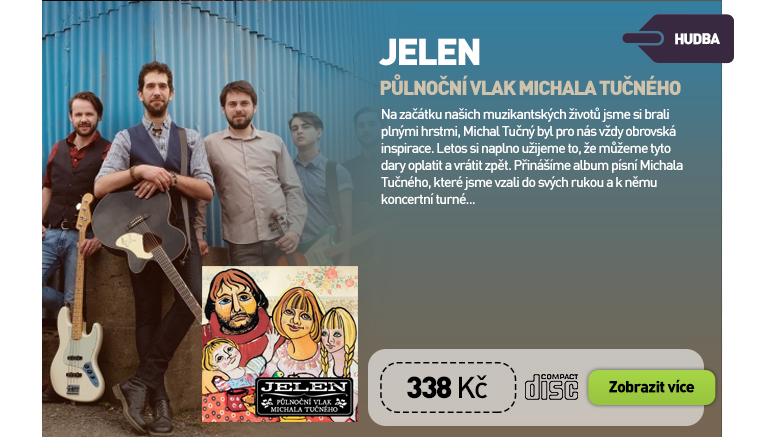 Jelen - Půlnoční vlak Michala Tučného - CD