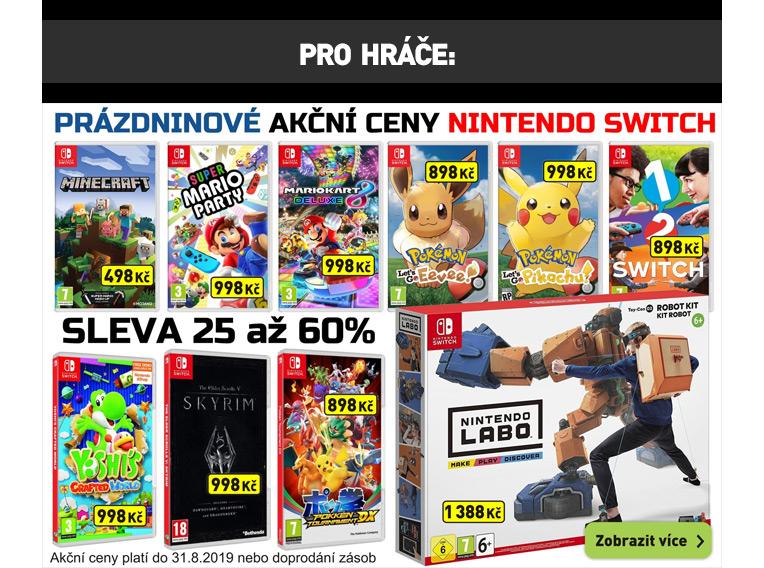 Nintendo Switch Akční ceny