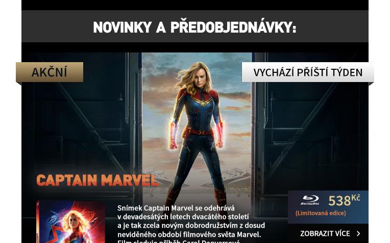 Captain Marvel - Blu-ray (Limitovaná sběratelská edice)