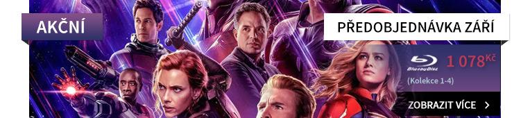 Avengers: Kompletní kolekce 1-4 - Blu-ray