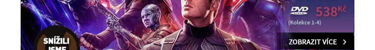 Avengers: Kompletní kolekce 1-4 - DVD