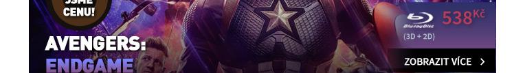 Avengers: Endgame - Blu-ray 3D   Blu-ray   Bonus Disk (3BD) Limitovaná edice