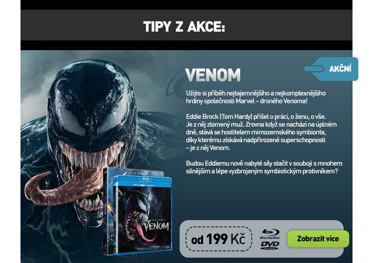 Venom (2018) - Blu-ray, Venom (2018) 3D - Blu-ray   3D Blu-ray (2BD), Venom (2018) - DVD