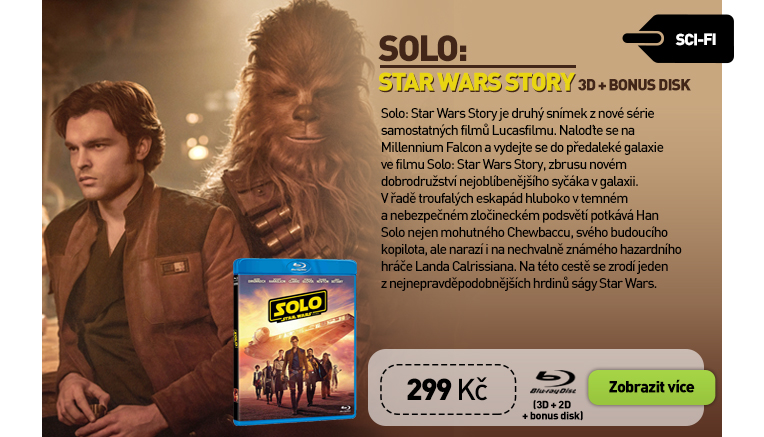 Solo: Star Wars Story - Blu-ray 3D   2D   Bonus Disc