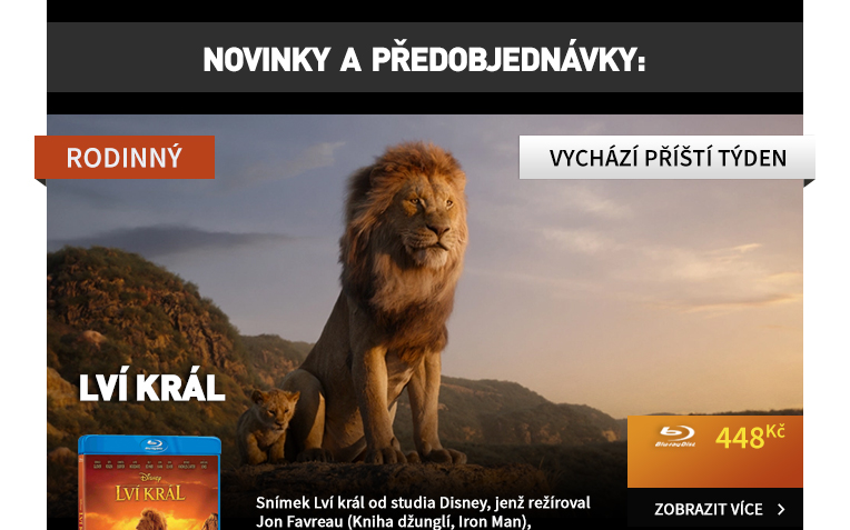 Lví král (2019) - Blu-ray