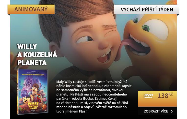 Willy a kouzelná planeta - DVD