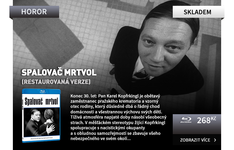 Spalovač mrtvol (restaurovaná verze) - Blu-ray