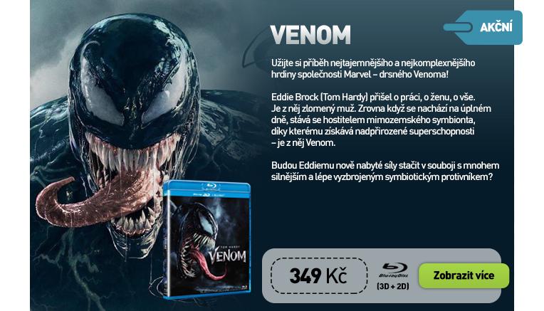 Venom (2018) 3D - Blu-ray   3D Blu-ray (2BD)