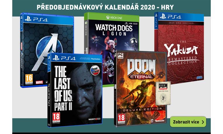 Předobjednávkový kalendář 2020 - hry