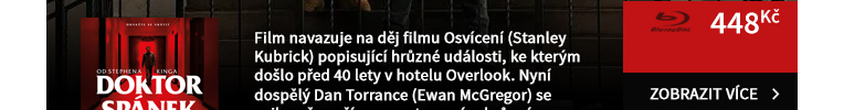Doktor Spánek od Stephena Kinga - Blu-ray