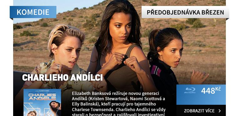 Charlieho andílci (2019) - Blu-ray