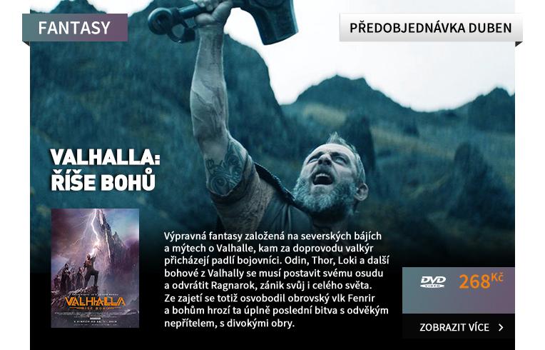Valhalla: Říše bohů - DVD