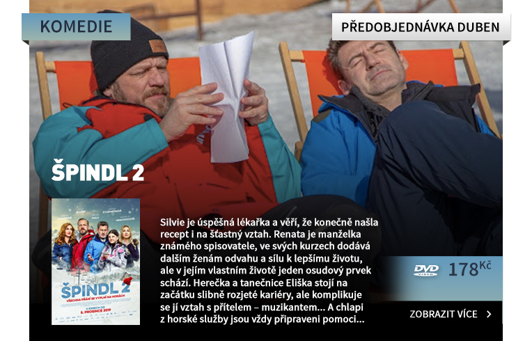 Špindl 2 - DVD