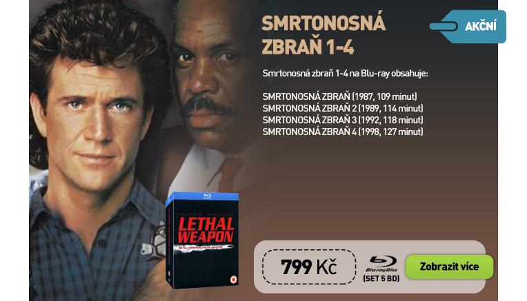 Smrtonosná zbraň 1-4 Box Set 5BD - Blu-ray