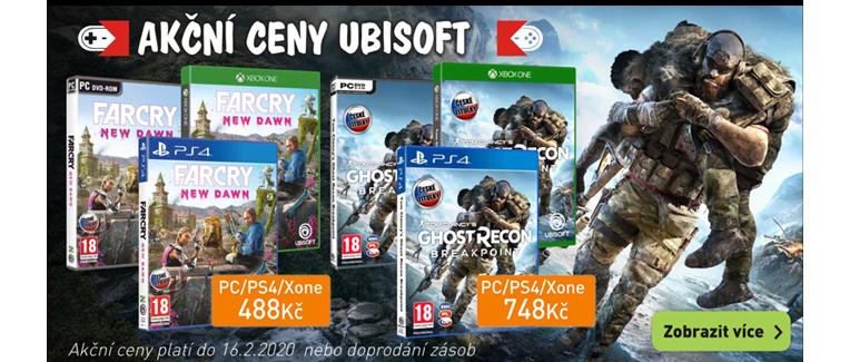 Akční ceny Ubisoft