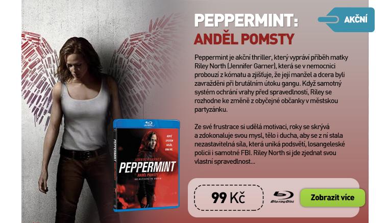 Peppermint: Anděl pomsty - Blu-ray