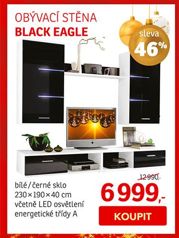Obývací stěna BLACK EAGLE