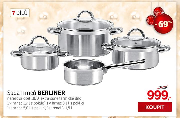 Sada nádobí BERLINER (7 dílů)