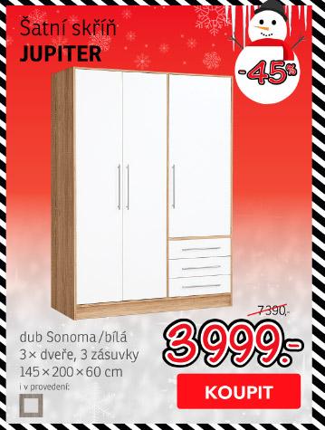 Šatní skříň JUPITER