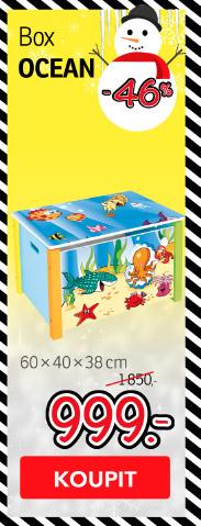 Dětský úložný box OCEAN