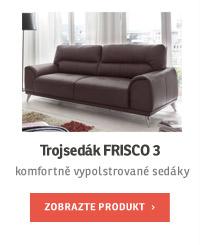 Trojsedák FRISCO 3