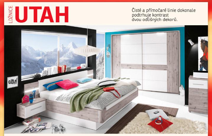 Ložnice UTAH