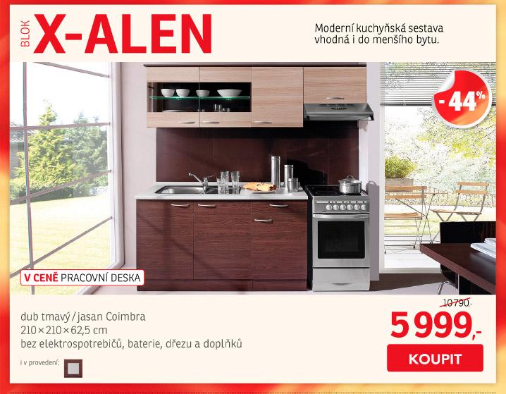 Kuchyňský blok X-ALEN