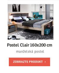 Postel Clair 160x200 cm