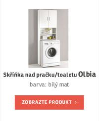 Skříňka nad pračku/toaletu OLBIA