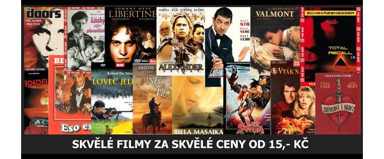 Filmy od 15 Kč